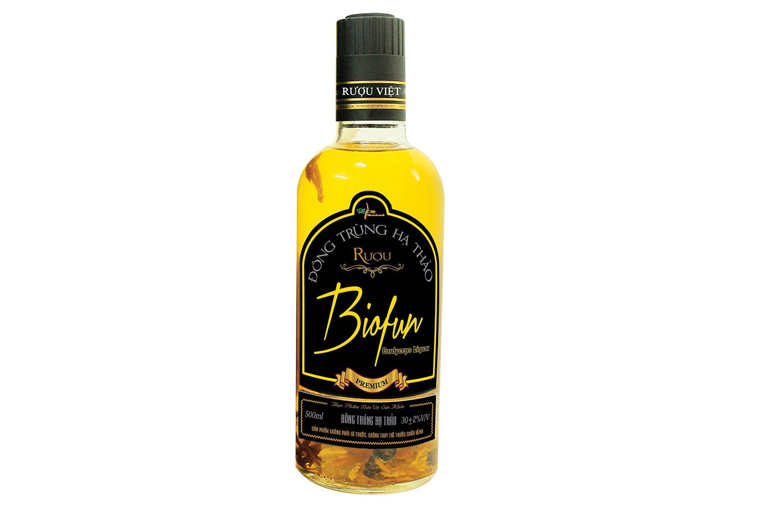 Rượu Đông trùng hạ thảo BioFun